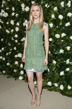 Brit Marling in Chanel