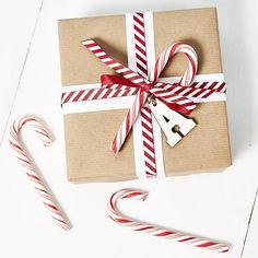 christmas candy canes by sophia victoria joy etc | notonthehighstreet.com