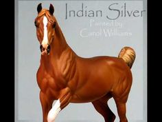 Arabian Horse Sculpture Indian Silver Painted Resin Casting