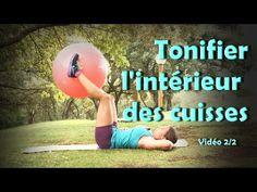 Tonifier l'intérieur cuisses et les abdos ( Thigh gap 2/2) - YouTube
