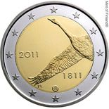 2 euro 200th anniversary of Bank of Finland  - 2011 - Series: Commemorative 2 euro coins - Finland