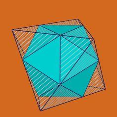 octahedron containing icosahedron