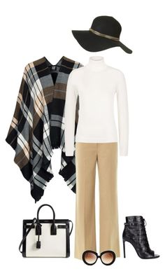 """""""Untitled #1993"""" by elia72 ❤ liked on Polyvore featuring Vero Moda, Valentino, HUGO, Yves Saint Laurent and Topshop"""