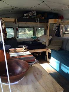 Simple Short Bus Conversion With Lots Of DIY Inspiration