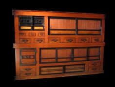 Large Omi Kitchen Chest  a fantastic mizuya dansu at shibui...I lust after this...one day...