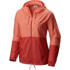 Columbia Flash Forward Windbreaker ($40) ❤ liked on Polyvore featuring activewear, activewear jackets, columbia sportswear, columbia and columbia activewear