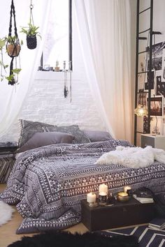 Dreamy Boho Bedroom Daily Dream Decor Boho Bedrooms And Room throughout measurements 975 X 1463 Bohemian Bedroom Decorating - An individual may also purchase exclusive and one of a kind […] Bedroom Decor, Magical Bedroom, New Room, Dream Room, Home, Dream Decor, Home Bedroom, Room Inspiration, Apartment Decor
