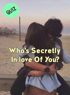Who's Secretly In love Of You? Love Quiz, Boyfriend Quiz, Attracted To Someone, Quizzes For Fun, Teen Fun, Secret Crush, Personality Quizzes, Fun Loving, Your Crush