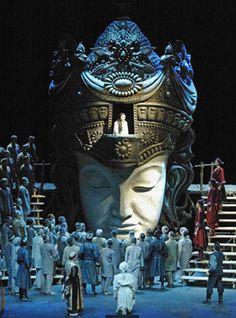 G. Puccini, Turandot at the Finnish National Opera, April 16 2005 (GF)