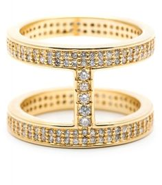 Lena Shimmer Double Bar Ring - Rings - Jewelry | gorjana & griffin