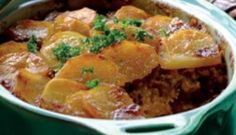mince & potato bake