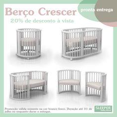 Berço Crescer em Branco Fosco Baby Bedroom, Baby Room Decor, Kids Bedroom, Baby Doll Toys, Baby Room Neutral, Nursery Crib, Baby Room Design, Baby Hacks, Kid Spaces