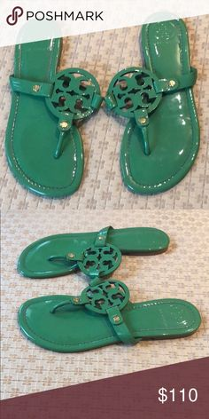 cd642c976cd539 patent leather Tory Burch Miller sandals