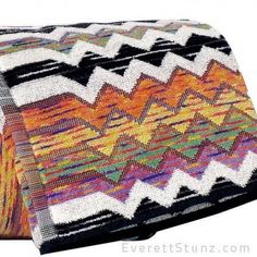 """Paul"" by MissoniHome. A great graphic towel that is fun to mix and match to add some life to a boring bathroom!"