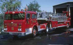 ◆Boston, MA FD Ladder 15 ~ Maxim 100' TDA◆