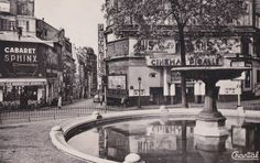 Old Paris, Vintage Paris, French Vintage, Vintage Pictures, Old Pictures, Old Photos, Cabaret, Pigalle Paris, Paris Winter
