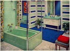 """Bathroom Fixtures Ad 2  """"Better Homes and Gardens""""  September 1959"""