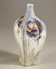 Jurriaan Jurriaan Kok ~ Carnation ~ Vase for Rozenburg ~ Eggshell porcelain ~ ca. 1902