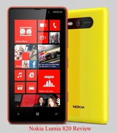 Nokia Windows Mobile Lumia 820 Price, Features, Specifications  it has 123.8 x 68.5 x 9.9 mm Dimensions, 160 g Weight, 4.3 inches AMOLED Capacitive Touchscreen with 480 x 800 Pixels, 8 MP Primary Camera with the resolutions of 3264 x 2448 Pixels, Secondary Camera,