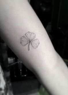 I actually love this because it only has three leaves. You don't have to be lucky to make the best of it, or something like that