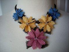 Bridesmaids Turkish Oya needle lace gift by AnatolianWedding, $65.00