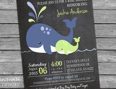 Nautical Baby Shower Invitation, Baby Boy Shower invitation, DIY Printable, Navy and Lime, Whales, Whale Baby Shower, Baby Shower Party by KansasCardstock on Etsy https://www.etsy.com/listing/249686862/nautical-baby-shower-invitation-baby-boy