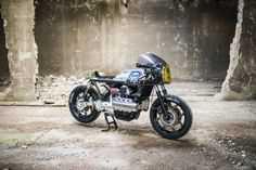 Italian Furniture Builders Built This BMW K100RS Cafe Racer Out of An Oil Drum and It's DEADLY