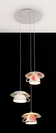 Tea Cups Pendant Shades
