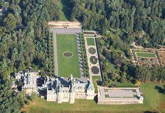 biltmore house aerial