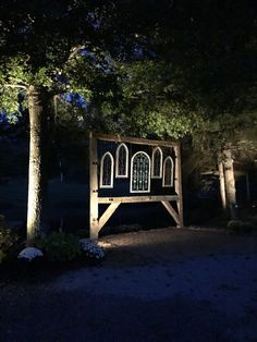 Pond ceremony site. Outdoor Furniture, Outdoor Decor, Special Day, Pond, Twin, Events, Wedding, Valentines Day Weddings, Water Pond