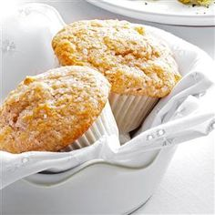Apple-Walnut Muffin Mix Recipe -Keep this mix on hand for small-batch baking. Each muffin comes out with a nice, rounded top, crunchy sugar topping, and hints of cinnamon, walnuts and apples. —Taste of Home Test Kitchen