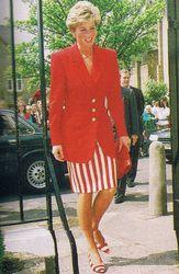 Diana In Red - Princess Diana Remembered