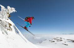 Autre vue de la pratique du ski alpin ou de descente à Lélex (© Montagnes du Jura - Benjamin Becker)