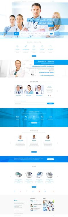 meda is a modern psd template which will be ideally suitable for any sites of medicine clinics doctors dental