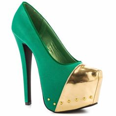 Gold..over Green