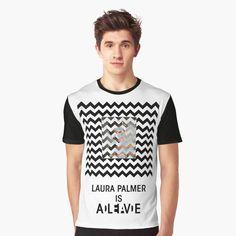 Dead Alive, Laura Palmer, Twin Peaks, Female Models, Tank Man, Shirt Designs, Mens Tops, How To Wear, T Shirt