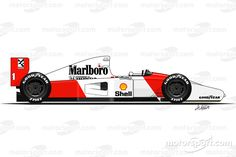 1992 - McLaren place / 3 wins / 50 points Senna You are in the right place about Formula 1 Auto F1, Gp Do Brasil, Race Party, Racing Tattoos, Detroit, Formula 1 Car, Mclaren Mp4, Mc Laren, Automotive Art