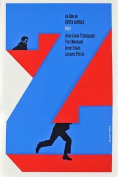 Z (1969). Cuban poster by Nelson Ponce Sanchez.