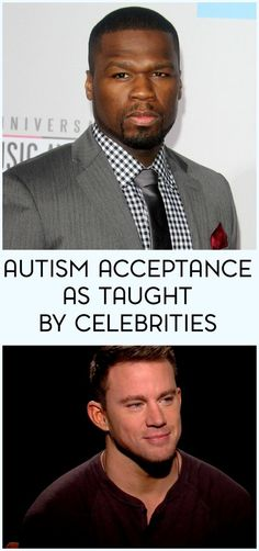 Though we shouldn't always look to them for guidance, there are still a few important lessons that we can learn from celebrities. For example, we can learn about autism acceptance.