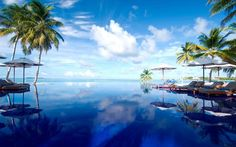 ★★★★★ Conrad Maldives Rangali Island #Pool #SouthAriAtoll #Maldives