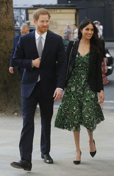 Meghan Markle Debuts Her Very First Royal Rewear as She Steps Out with Prince Harry
