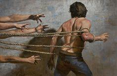 cesar santos paintings | ... Daniel Greene, Steve Huston, Paul Oxborough, Cesar Santos, Zack Zdrale