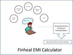 Finheal EMI Calculator