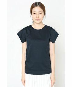 SLOBE IENA(スローブイエナ)の《予約》60/スムース Tシャツ◆(Tシャツ/カットソー)|詳細画像