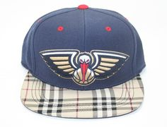 New Orleans Pelicans Custom Snapback Hat by SUNKEN BOOTY x MITCHELL & NESS