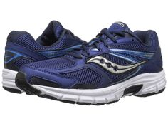 Saucony Grid Cohesion 9 Men Running Shoes (S25262-6) Navy Grey D,M Size 11.5 New #Saucony #AthleticSneakers