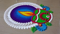 Rangoli Designs Simple Diwali, Simple Rangoli Border Designs, Indian Rangoli Designs, Rangoli Designs Latest, Simple Rangoli Designs Images, Rangoli Designs Flower, Rangoli Patterns, Free Hand Rangoli Design, Rangoli Ideas