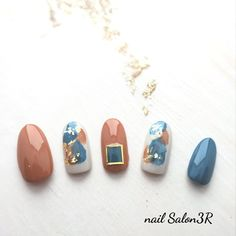 Pretty Nail Art, Cute Nail Art, Cute Nails, Japanese Nail Design, Japanese Nail Art, Nail Art Designs Videos, Gel Nail Designs, Stiletto Nail Art, Gel Nail Art