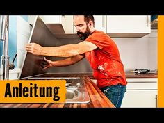 Küchenrückwand montieren | HORNBACH Meisterschmiede - YouTube Kitchen, Material, Youtube, Exhaust Hood, Tutorials, Cooking, Kitchens, Cuisine, Youtubers