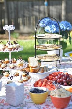 backyard bridal shower decor - Google Search